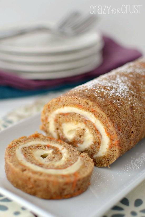 Carrot-Cake-Roll