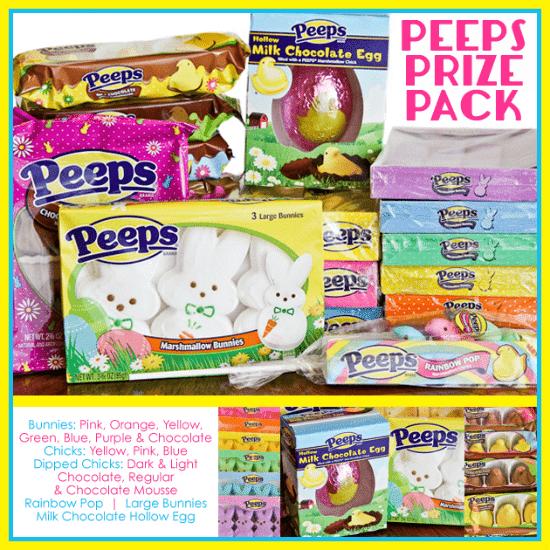 PEEPS Prize Pack Giveaway