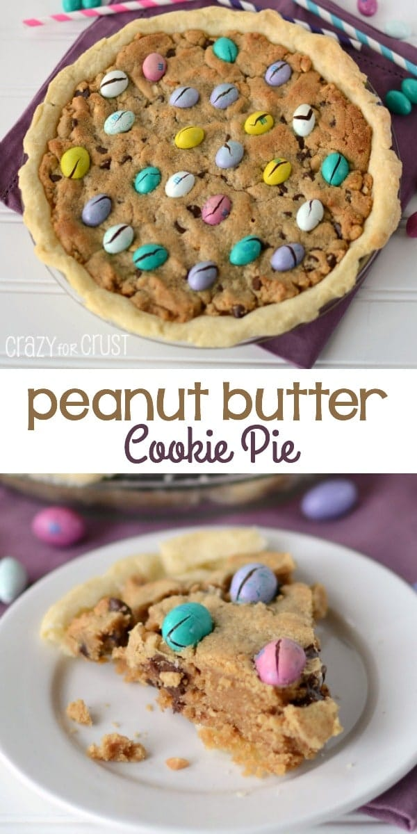 Perfect Peanut Butter Cookie Pie