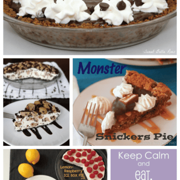 pi day pies collage