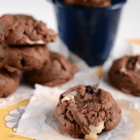 chocolate pb pudding cookies4-1 words