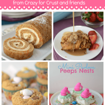 easter treats collage photo pinnable image