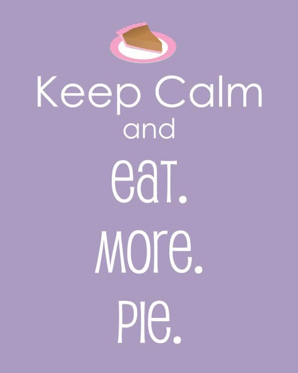 keep calm pie-001