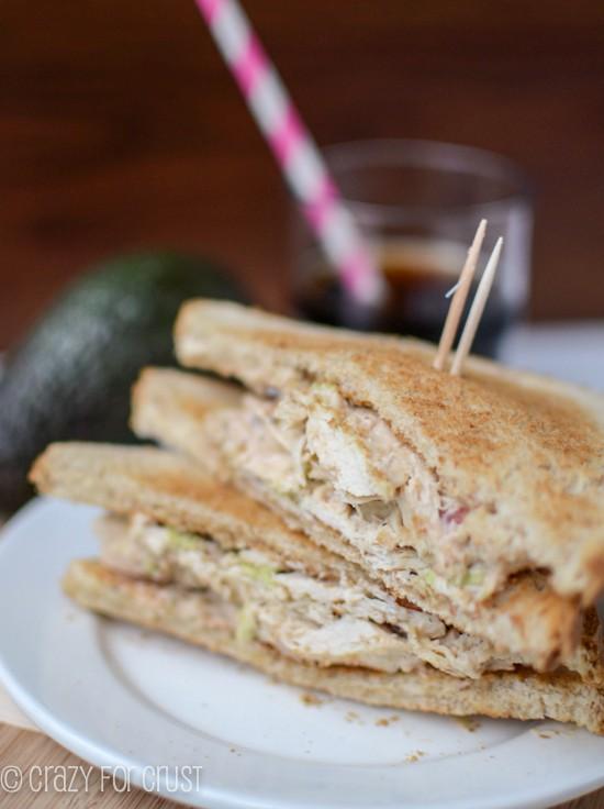 Chicken Salad Sandwiches | Crazy for Crust