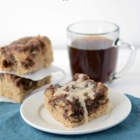 Mocha Coffee Cake | Crazy for Crust