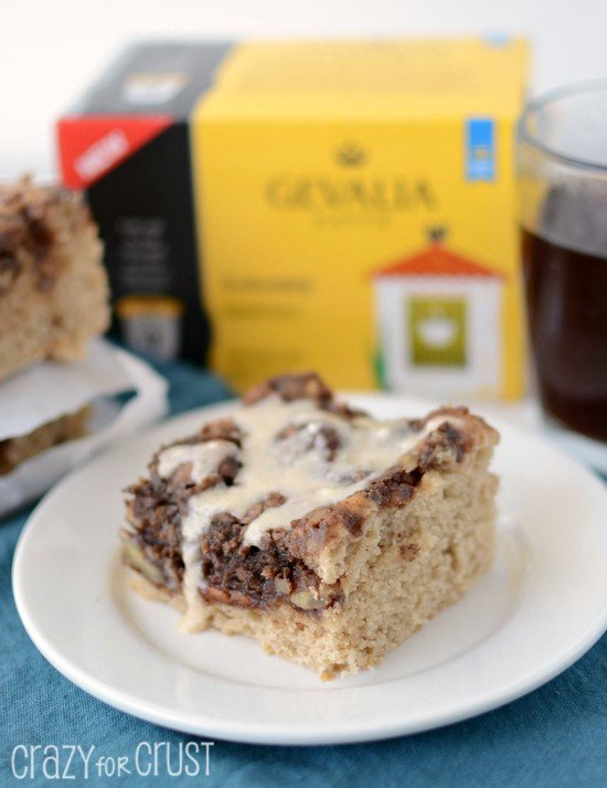 Mocha Coffee Cake by crazyforcrust.com | A coffee cake filled with ...