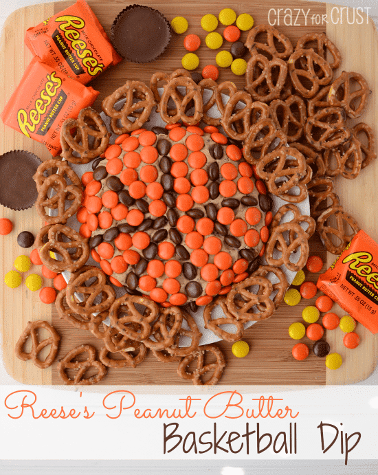 Reeses Basketball Dip | Crazy for  Crust