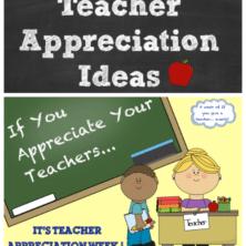 teacher appreciation ideas printable with if you appreciate your teachers