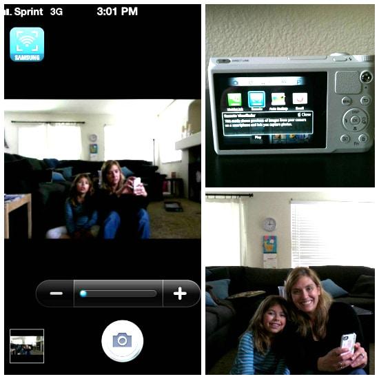 Samsung WB800F remote
