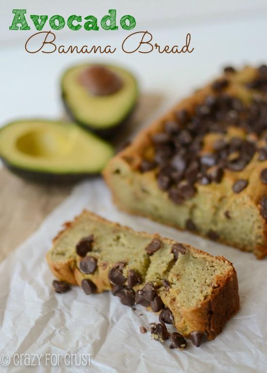 Recipe: Avocado banana bread