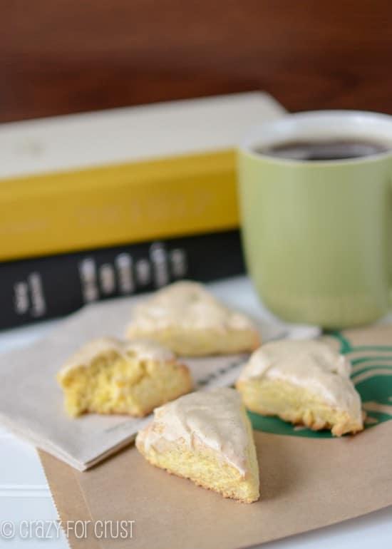 ... Petite Vanilla Scones! {Original scone recipe adapted from Woman's Day