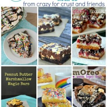 magic bar round up collage of 6 recipe photos