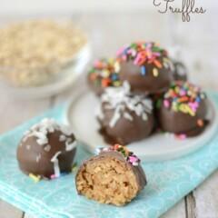 peanut butter oatmeal cookie dough truffles (1 of 5)w