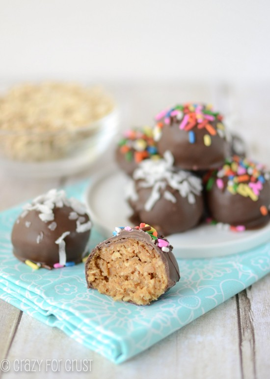 peanut butter oatmeal cookie dough truffles (3 of 5)