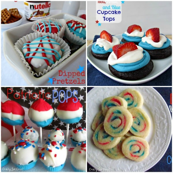 26 Fourth of July Recipe Ideas by crazyforcrust.com