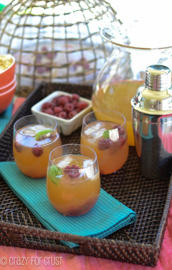 Raspberry Arnold Palmer by www.crazyforcrust.com | A new twist on a classic drink!