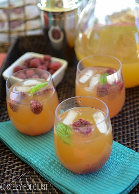 Raspberry Arnold Palmer by crazyforcrust.com | A new twist on a classic drink!
