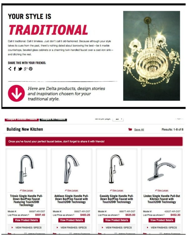 The Story of a New Kitchen Faucet, Part 1 by crazyforcrust.com #DeltaFaucetInspired