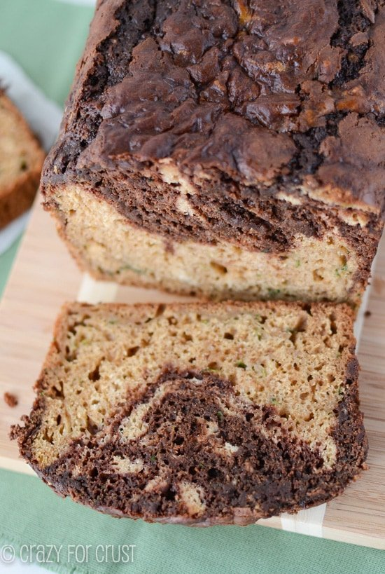 Chocolate Swirl Zucchini Bread | crazyforcrust.com | My favorite zucchini bread!