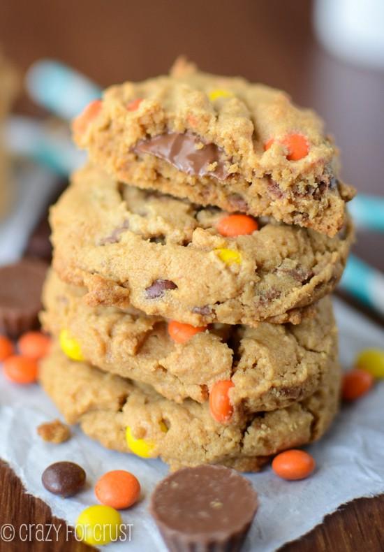 Jordan's Reese's Overload Cookies