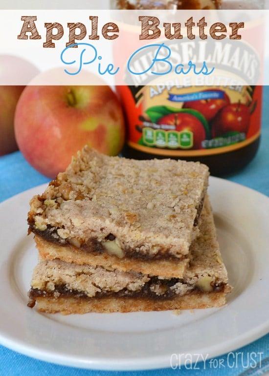 apple butter pie bars