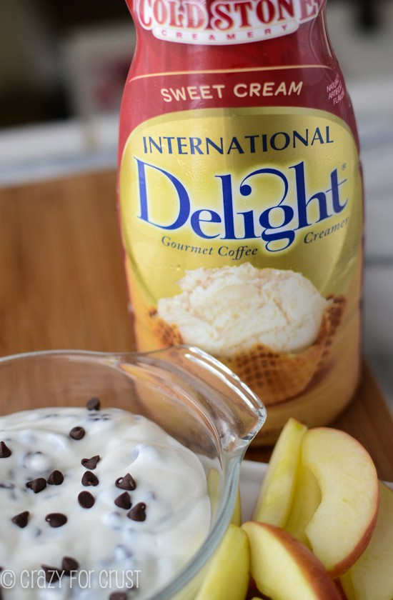 Ice Cream Apple Dip | crazyforcrust.com | #apple #dip #IScream4ID