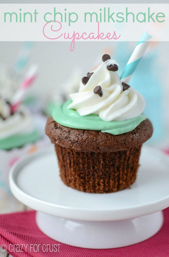 Mint Chip Brownie Cupcakes Crazy For Crust