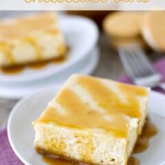 Banana Cheesecake Bars (2 of 5)w