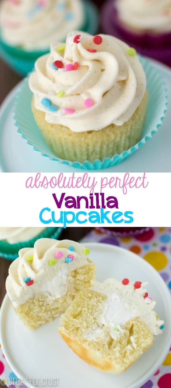 The Perfect Vanilla Cupcake Recipe