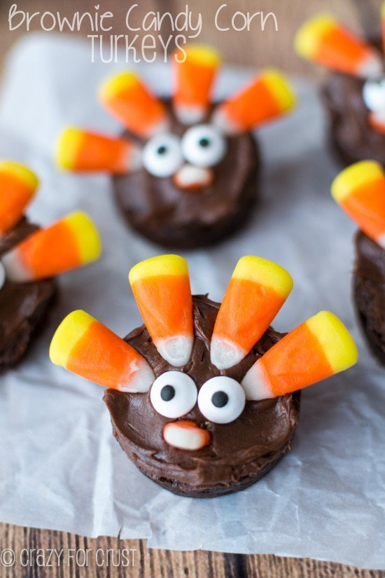 Brownie Candy Turkeys & Giveaway