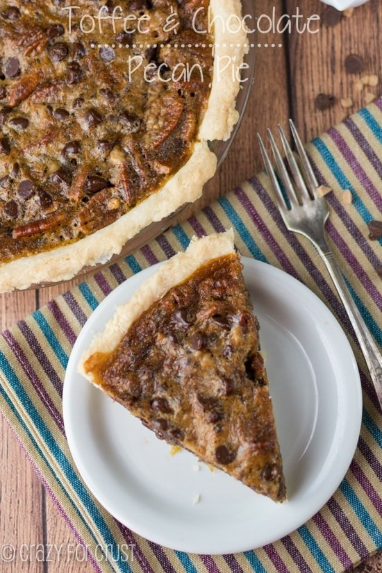 Toffee Chocolate Pecan Pie (2 of 5)w