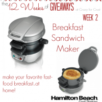breakfast sandwich maker giveaway
