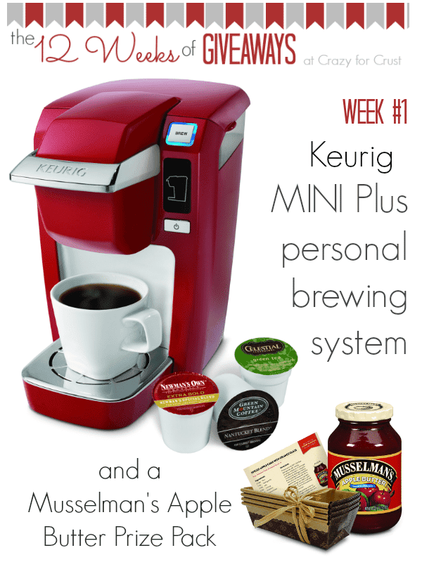 Keurig Mini Plus Giveaway {12 weeks of giveaways}