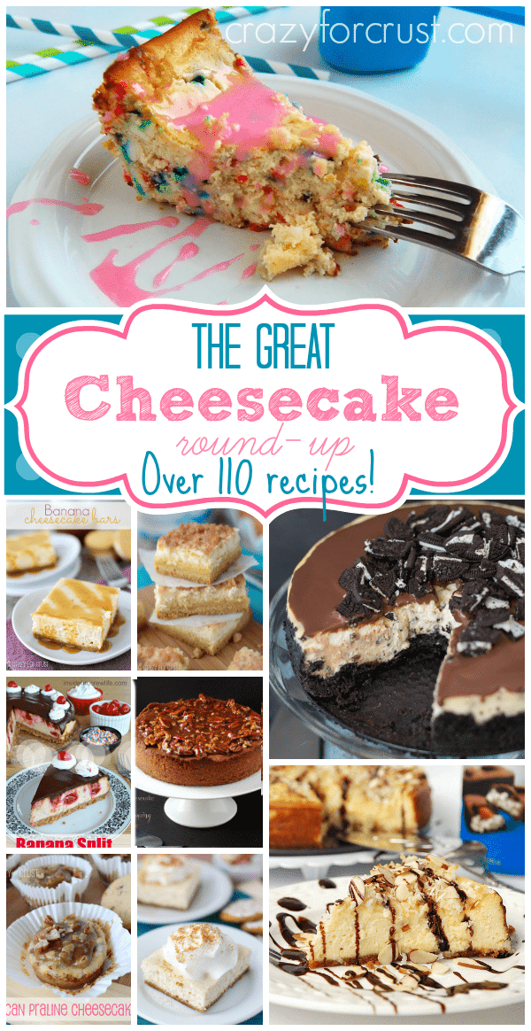 Over 110 Cheesecake Recipes