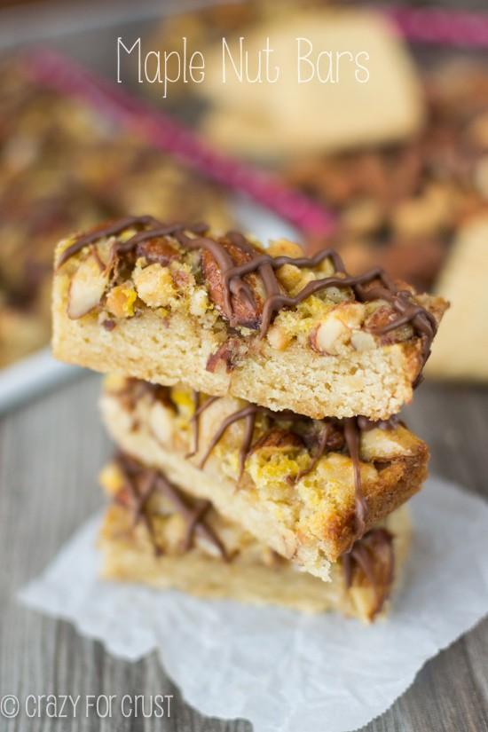 Maple Nut Bars