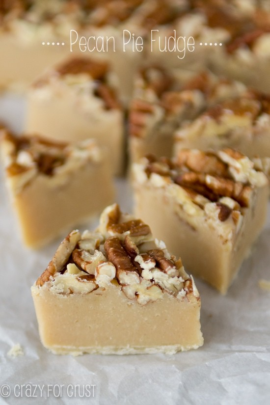 Pecan pie fudge: Eat your candy and pie too