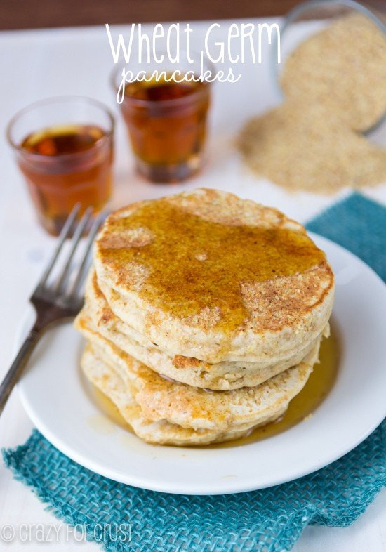 Wheat Germ Pancakes (1 of 3)w
