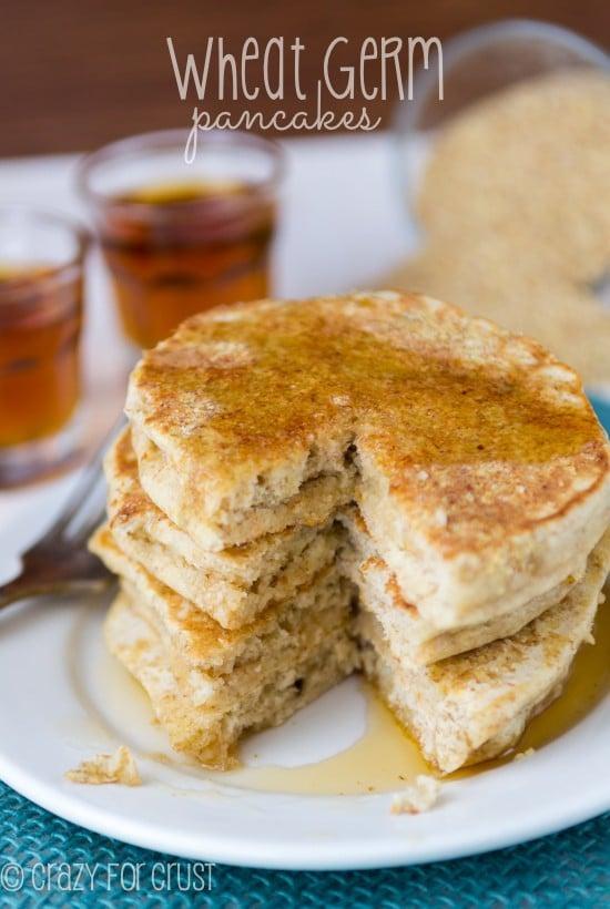 Wheat Germ Pancakes