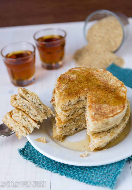 Wheat Germ Pancakes (3 of 3)