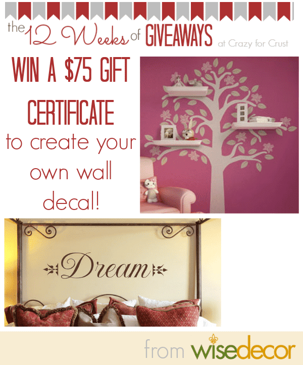 WiseDecor Giveaway