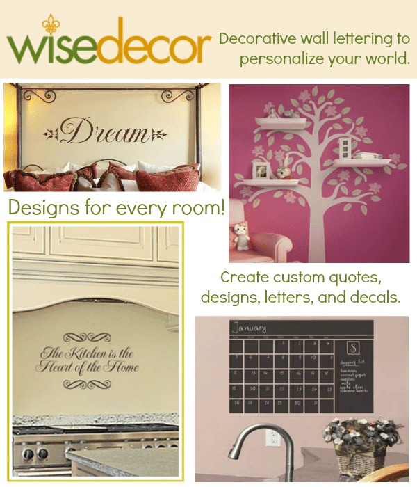 wise decor wall quotes title