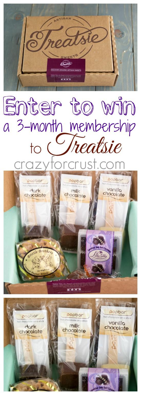 Treatsie: Get Sweet Mail at crazyforcrust.com