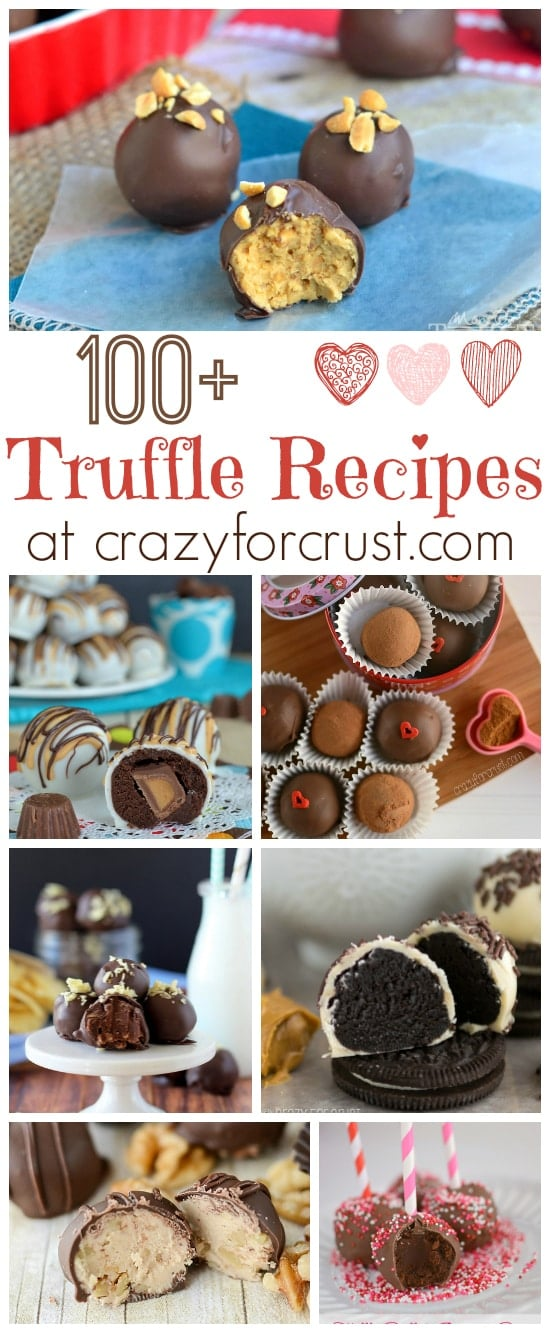 Over 100 Truffle Recipes perfect for any holiday at www.crazyforcrust.com