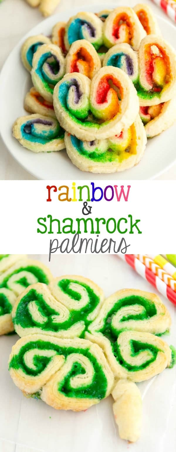 Rainbow & Shamrock Palmiers