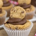 Chocolate Chip Cookie Cupcakes (2 of 6)w
