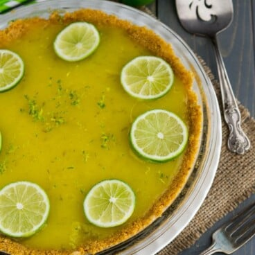Lime Curd Pie | Crazy for Crust