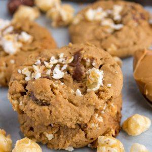 Easy Dark Chocolate Peanut Butter Cookies