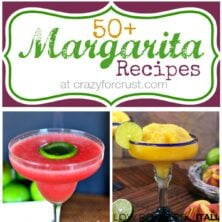 collage of 6 margarita recipes