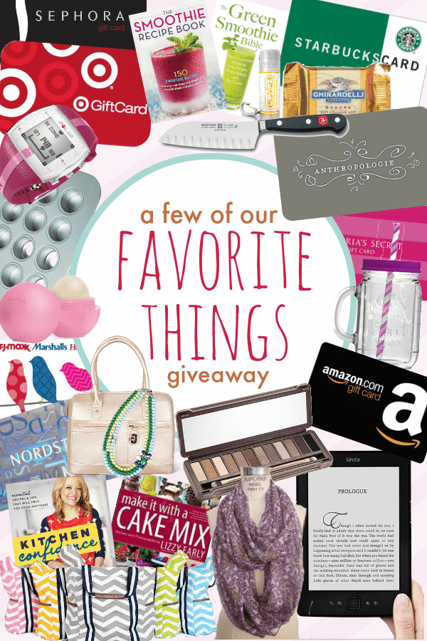 A Few of Our Favorite Things Giveaway