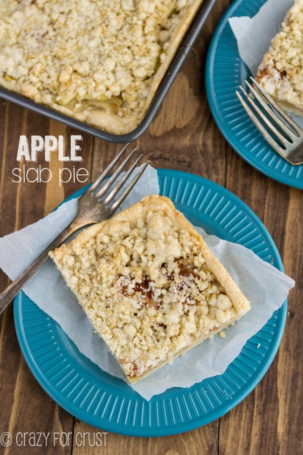 My favorite Apple Slab Pie!